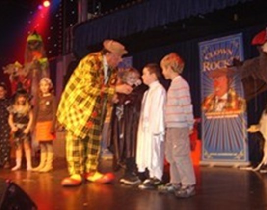 Clown Rocky's Halloweenshow